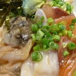 長崎平戸港 大阪福島酒場 - 海鮮丼アップ
