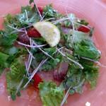 semolino - 鮮魚のカルパッチョ