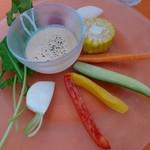 semolino - 彩り野菜のバーニャカウダ