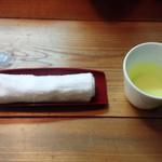 71388825 - おしぼりとお茶