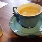 創作イタリアン 丹治 - 食後のコーヒー