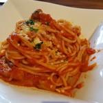 創作イタリアン 丹治 - tanto イタリア産パンチェッタと茄子のコンフィ トマトソース