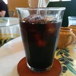 パティスリー・アラカンパーニュ - アイスコーヒー