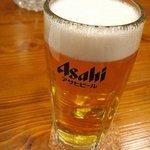 カツと定食の店 藤竹 - ほろ酔いセット-生ビール