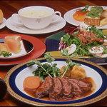 プティ・ホテル セ・ボン - コース料理(メインは魚又は肉をチョイス)