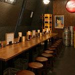 もつやき 赤坂酒場 - チョットお洒落な昭和の大衆酒場。