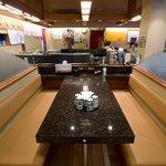 回転寿司 日本海 - ボックス席