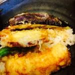 女川海の膳ニューこのり - ミニ穴子天丼