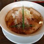 手打ち麺 やす田 - カツオ醤油ラーメン