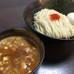 麺座 かたぶつ - 味玉KARA辛つけ麺 1000円+ 大盛り無料