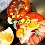 和海味処 いっぷく - 海鮮丼(上)2900円税抜き!