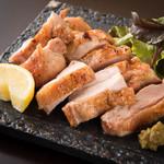 <宮崎直送>日向鶏もも一枚肉の肉厚グリル