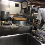 饂飩 倉 - 厨房はオープン