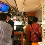 名前のない寿司屋 - 立ち食いスタイル