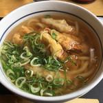 うどん ウエスト - 料理写真:ごぼう天うどん540円