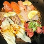魚河岸料理 うおぎん - 料理写真:寿司