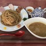 鬼にぼ - 鬼こってり煮干しつけ麺¥880+大盛無料(17:00〜)