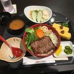 松阪まるよし - ステーキ丼3294円