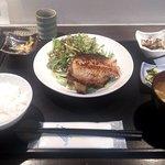 あおき - 日替わり御膳・アコウ鯛粕漬け焼き