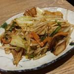 オリジンダイニング - 6品目の肉野菜炒め