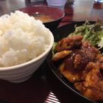 たんぽぽ - 鶏の味噌焼き