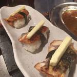 フジヤマドラゴン - うなぎバター寿司