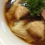 らぁ麺 すぎ本 - ワンタン