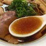 らぁ麺 すぎ本 - スープ