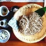 四季の風 - せいろ(普通盛り)1000円
