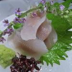 京亭 - 鮎刺身