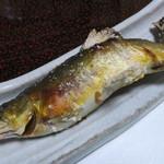 京亭 - 天然鮎塩焼き