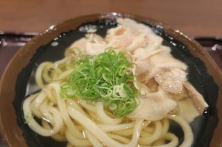 香川 一福 立川店 - 米沢豚肉うどん 温 小2