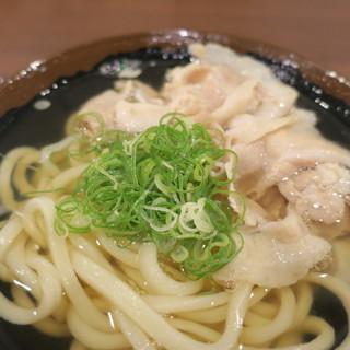 香川 一福 - 料理写真:米沢豚肉うどん 温 小2