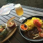 サザンビーチカフェ - 牛すじデミグラスカレー