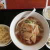 北京家庭菜 - 料理写真:豚バララーメンAセット(680円)