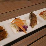 バルタン食堂 - ランチセットの前菜