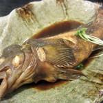 富水 - アイナメ煮物