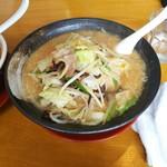元祖赤みそ家 - 野菜味噌ラーメン
