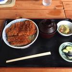 ソースカツ丼・そば きりの実 -