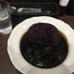 風我亭 - ・「黒の開港カレー辛口(¥780)」