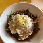 あたか飯店 草津店 - イトヨリ鯛と豆腐の蒸し物