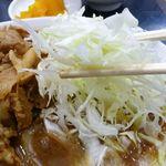 中国料理 登龍 - 焼肉定食680円
