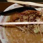 豚そば ココトン - 味噌そば950円 丼の直径19cm