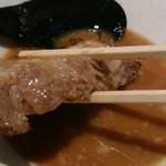 豚そば ココトン - 味噌そば950円 分厚いお肉