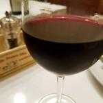サン・ヴァンサン - グラス赤ワイン