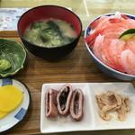 浜のかあちゃん食堂 - 甘エビ丼   1500円
