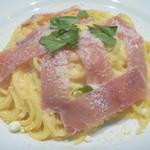 イタリア料理 アンディアーモ - 料理写真:生ハムとレモンのカルボナーラ