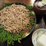 手仕事屋 - 料理写真:十割蕎麦 生蕎麦