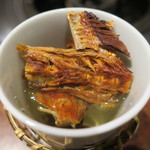 河豚鮮 - ヒレ酒