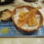 菜々海 - あなごの天ぷら